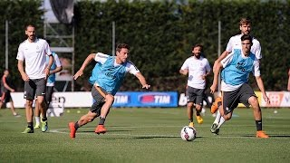 La Juventus riparte - Juventus return to training