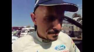 Lucio Alvarez, al termine della sua Dakar a bordo di una nuovissima Ford Ranger
