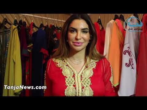 طنجة.. مصممة الأزياء إنصاف تعرض أحدث صيحات اللباس التقليدي