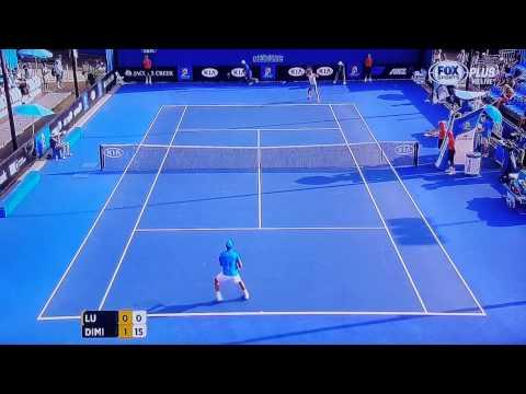 2014澳網Australian Open Men's Singles Round 2~盧彥勳Yen-Hsun Lu v Dimitrov(一)