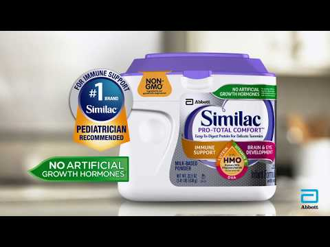 video Similac Pro-Total Comfort – 29.8 oz – Powder – 4 Pack