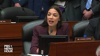 WATCH: Ocasio-Cortez asked if Trump 'improperly' avoided paying taxes. Cohen said yes