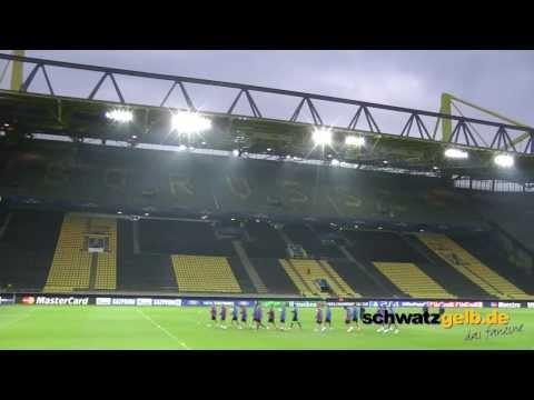 BVB - FC Zenit St. Petersburg Abschlusstraining Champions League Borussia Dortmund