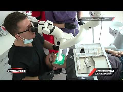 Endodontia la microscop