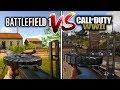 BF1 Versus COD WW2 ALL GUNS COMPARED Battlefield VS Call of Duty WHO WON