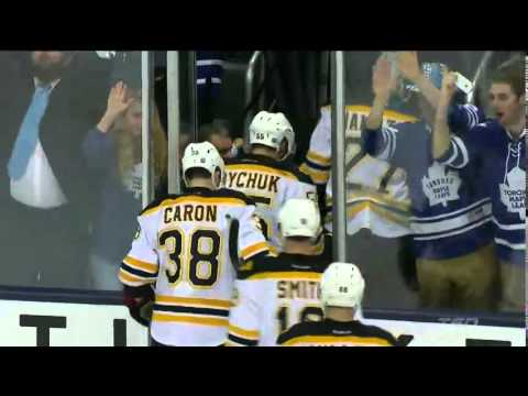 Kadri's OT Winner! - Bruins vs. Maple Leafs (Apr 3, 2014)
