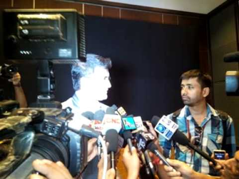Saurav Ganguly with Rj Animesh live on Red fm kolkata :  7th may 2014