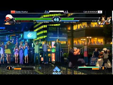 EVO2014 KOFXIII Pools - Qanba XiaoHai vs MadKOF