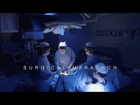 Resezione segmentaria laparoscopica del retto-sigma per nodulo endometriosico stenosante