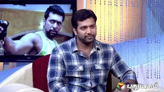 Natchathira Jannal With Actor Jayam Ravi – Puthuyugam Tv Show