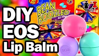 DIY Bean Boozled EOS LIP BALM, CORINNE VS PIN #14