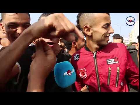 مشجع ودادي يتوقع نتيجة المباراة أمام الأهلي