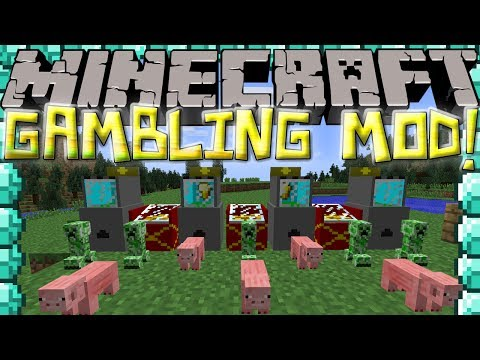 Minecraft Mods: GAMBLING MOD! MACHINES, COINS & TOYS!
