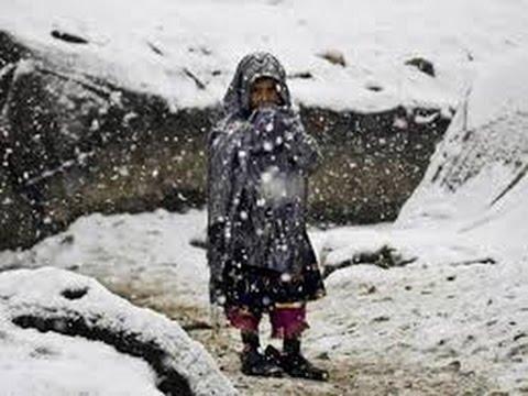 مأساة مسن مع البرد