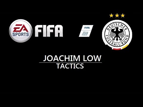 FIFA Custom Tactics World Cup:Germany Joachim Löw Tactics and Formation HD