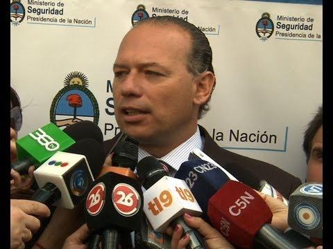 Berni dijo que el colombiano detenido