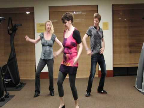 Michael Jackson Beat It Dance Tutorial Part 4 of 4 (front view)