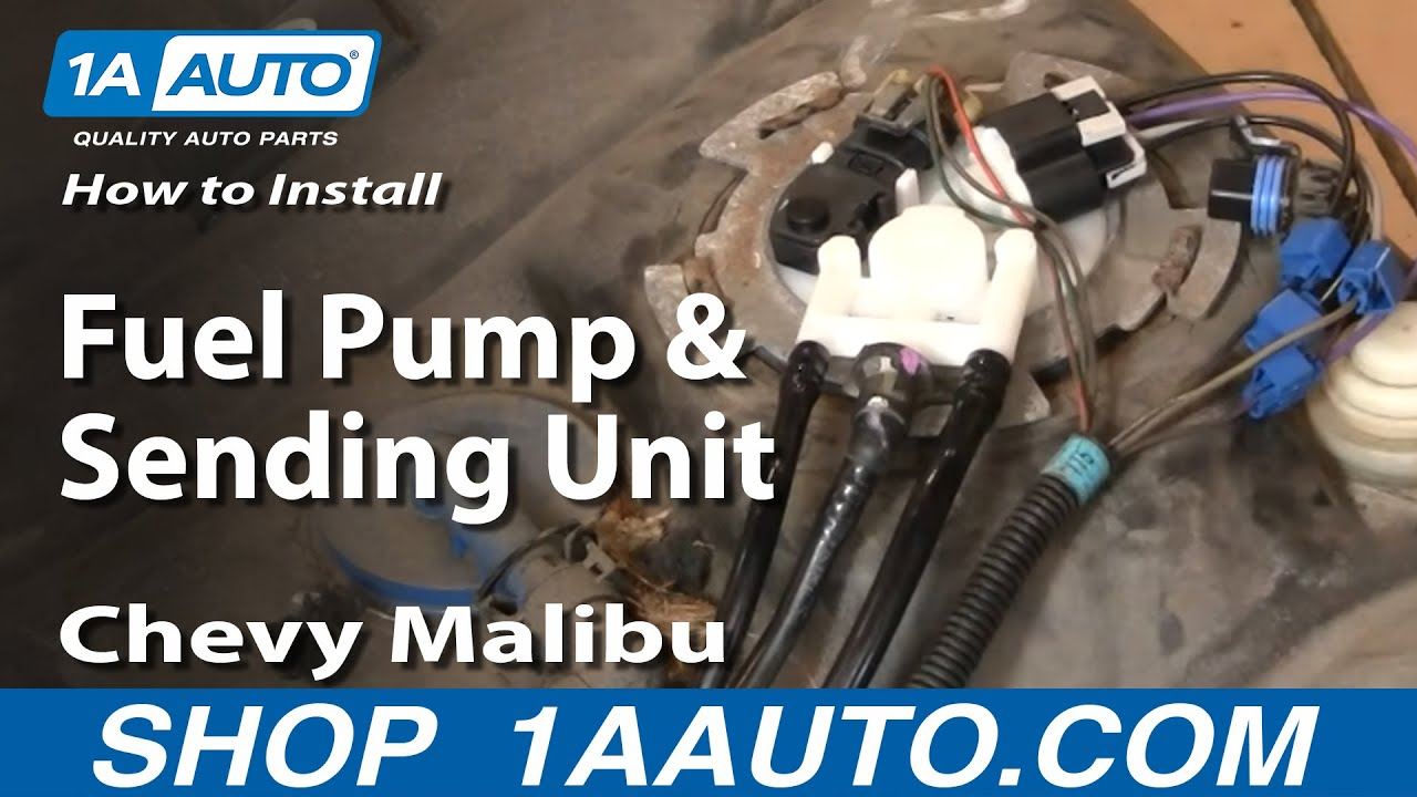 4 prong relay wiring diagram how to install replace fuel pump and sending unit chevy  how to install replace fuel pump and sending unit chevy
