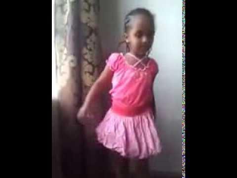 little somali girl dancing Indian song