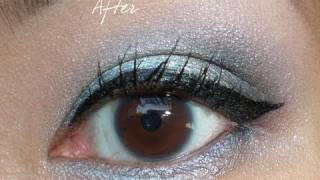 How To Apply Winged Gel Eyeliner