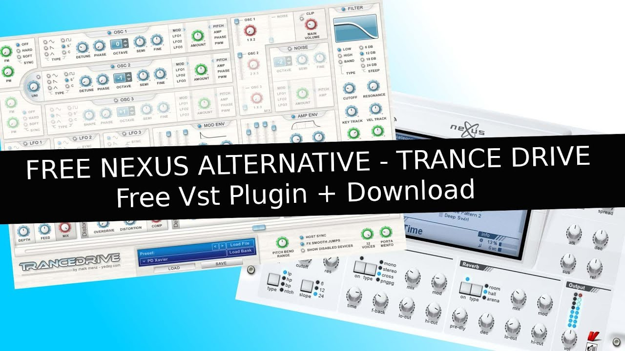 Refx nexus gratis alternative trance drive free vst for Google terance
