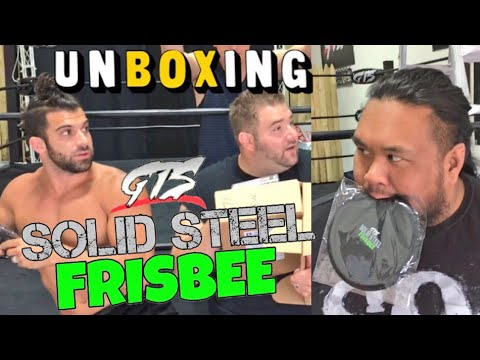 FUNNIEST UNBOXING OF WRESTLE CLUB CRATE WITH ROBBIE E AND FALLAH BAHH! UPDATE ON GINGE!