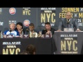 Bellator NYC Post Fight Press Conference