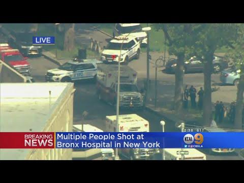 اولى صور إطلاق النار على مستشفى أمريكي