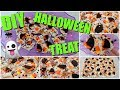 DIY Quick Easy Halloween Treat DIY Halloween Bark