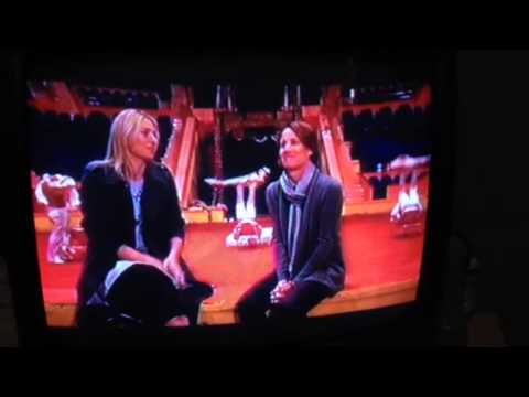 Mary Carillo and Maria Sharapova Go To The Circus