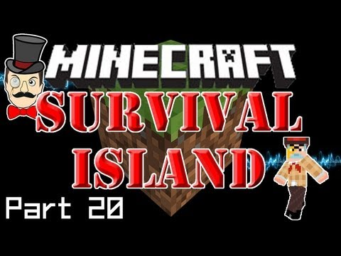 Minecraft SURVIVAL ISLAND - Long Lost Treasure, Cooking Iron & Notch's Hat?! (Part 20)