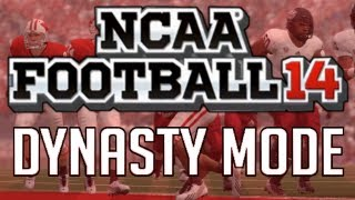 NCAA Football 14 - Dynasty Mode FULL Season Simulation (Livestream)