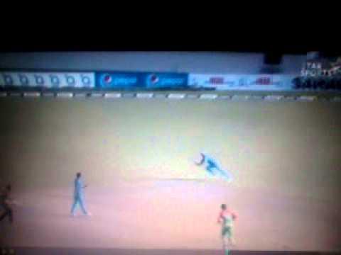 Raina took a blinder in Sahara Cup against Bangladesh