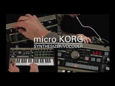 Korg microKORG 37 Key Mini Synth & Vocoder