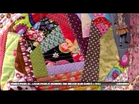 Crazy Patchwork - Costura com Riera Alta