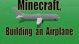 Minecraft Tutorial, How To Build An Airplane!