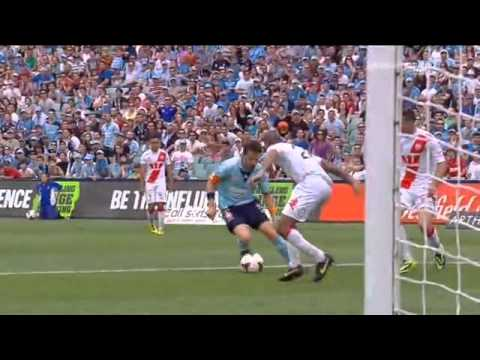 Allesandro Del Piero Sydney FC 2   0 Melbourne Heart