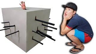 NTN - Giải Mã Ảo Thuật Đâm Xuyên Thùng Giấy ( Carton Box Magic )