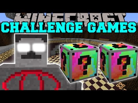 Minecraft: ROCK GOD CHALLENGE GAMES - Lucky Block Mod - Modded Mini-Game