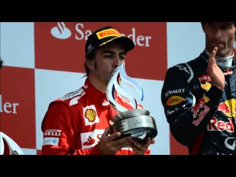 Fernando Alonso GP Gran Bretaña ESP