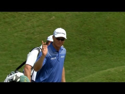 John Senden's impressive 75-foot eagle hole out at THE PLAYERS
