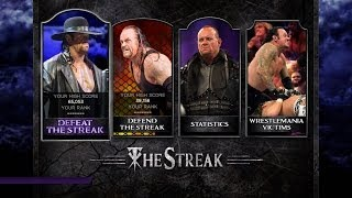 WWE 2K14 Defeat The Streak Mode Gameplay (How To Unlock