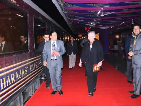 Ms. Nancy Powell, Former US Ambassador on-board Maharajas' Express