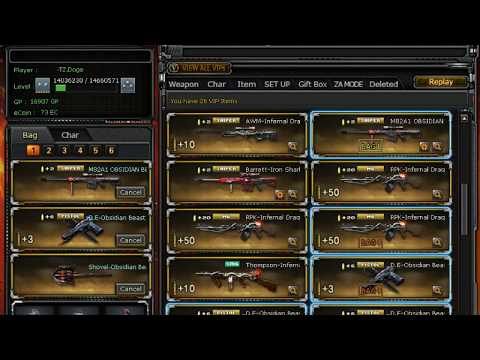 CrossFire Philippines | Storage Review 26 VIP 23 lotto Weapons