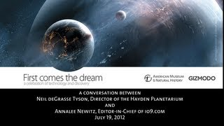 Neil Tyson Speaks at First Comes the Dream