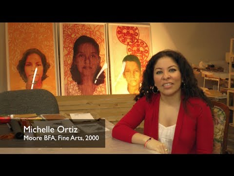 Michelle Ortiz // The Art of Inspiring Careers