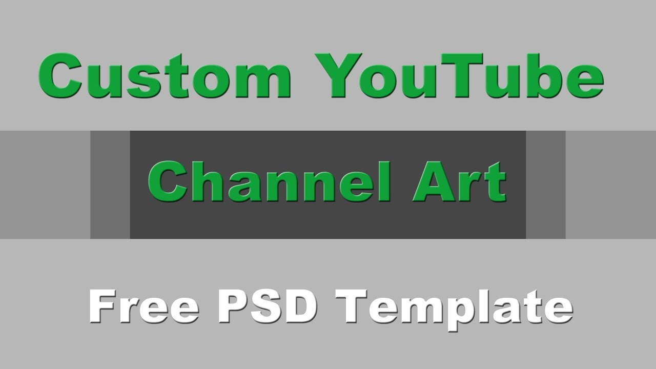 Youtube one channel change your youtube channel art banner