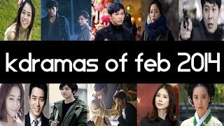 Top 10 New 2014 Korean Dramas [ February ] Top 5 Fridays