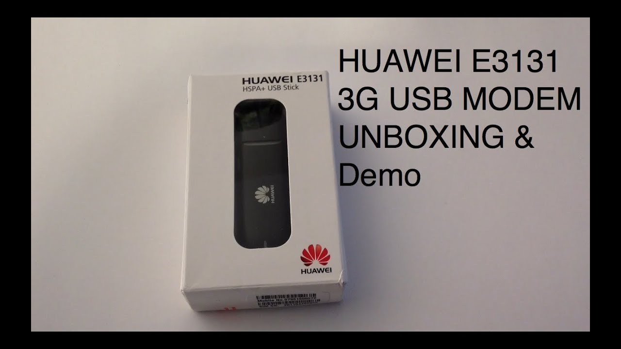 huawei e3131 3g usb stick modem 21 6 mbps unboxing. Black Bedroom Furniture Sets. Home Design Ideas