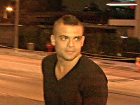 Mark Salling Shows up to Nightclub in LA